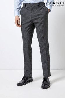 Burton Slim Fit Pow Check Trousers