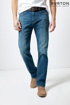 Burton Belted Logan Straight Fit Jeans