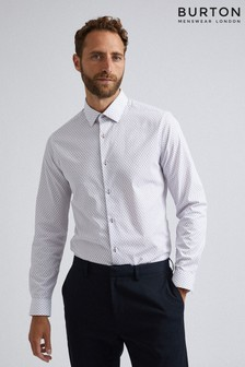 Burton Slim Fit Diamond Print Shirt