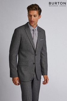 Burton Slim Textured Suit Jacket