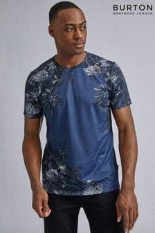 Burton T-Shirt mit Blumenmotiv