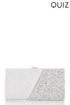 Quiz Shimmer Facet Clip Bag