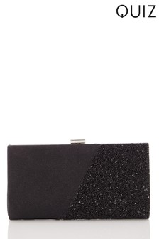 Quiz Shimmer Facet Clip Bag