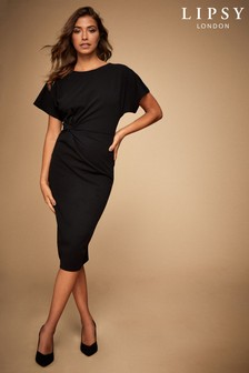 Lipsy Knot Front Midi Dress