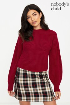 Nobody's Child Volume Sleeve Jumper