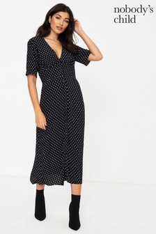 Nobody's Child Alexa Midi Dress