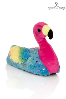 Want That Trend Flamingo Slippers