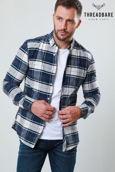 Threadbare Long Sleeve Check Shirt