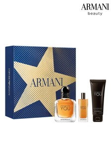 Emporio Armani Stronger with You Eau de Toilette Christmas Gift Set for him