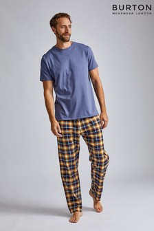 Burton Denim Tee Check Pant Set
