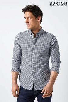 Burton Long Sleeve Gingham Shirt