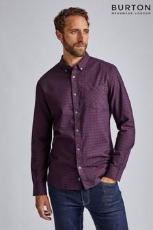 Burton Long Sleeve Mini Check Shirt