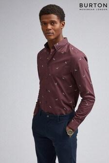 Burton Long Sleeve Seagull Print Shirt