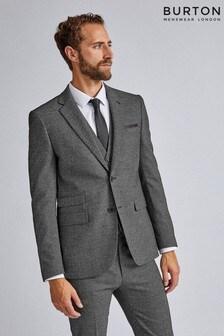 Burton Large Scale Textured Suit Jacket