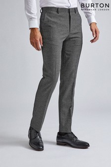 Burton Large Scale Textured Trousers