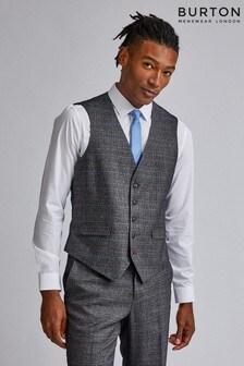 Burton Tailored POW Check Waistcoat