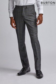 Burton Tailored Pow Check Trousers