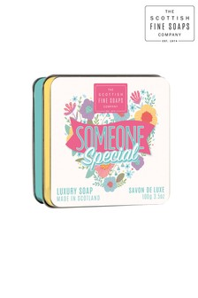 Scottish Fine Soaps Sweethearts Soap Tin Someone Special 100g