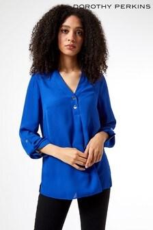 Dorothy Perkins 2 Button Roll Sleeve Shirt