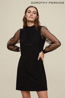 Dorothy Perkins Sparkle Sleeve Dress