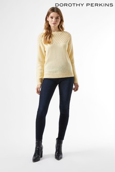 Dorothy Perkins Bobble Yoke Jumper