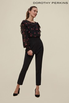 Dorothy Perkins High Button Trouser