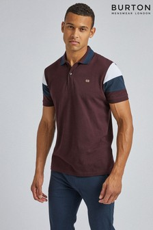Burton Colour Block Panel Polo Shirt