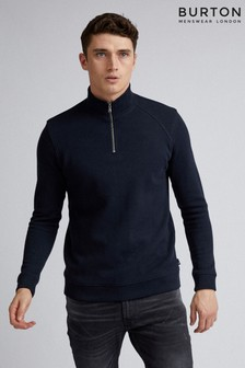 Burton Half Zip Funnel Neck Pull Over