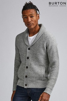 Burton Knitted Button Through Cardigan