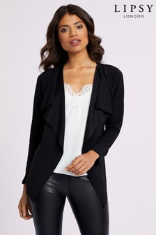 Lipsy Jersey Waterfall Jacket