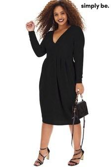 Simply Be Glitter Midi Dress