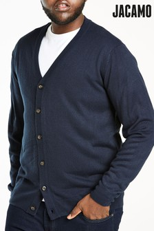 Jacamo Plus Size Button Cardigan