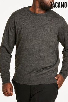 Jacamo Plus Size Crew Neck Jumper