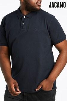 Jacamo Plus Size Griffin Polo T-Shirt
