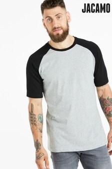 Jacamo Plus Size Raglan T-Shirt