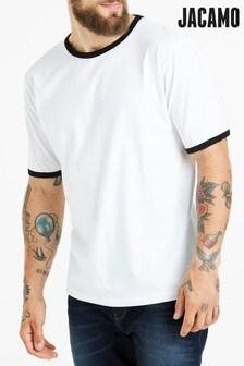 Jacamo Plus Size Ringer T-Shirt