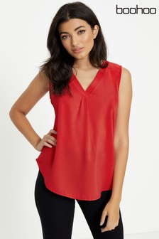 Boohoo V neck Blouse