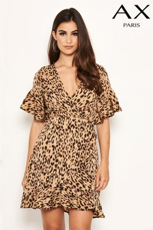 AX Paris Leopard Print Day Dress