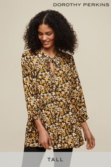 Dorothy Perkins Tall Floral Smock Top