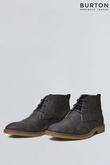 Burton Leather Look Chukka Desert Boot