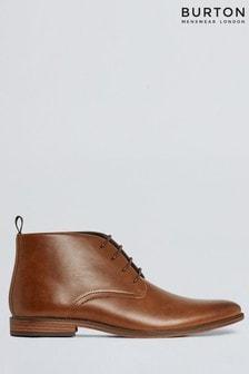 Burton Leather Look Chukka Boot