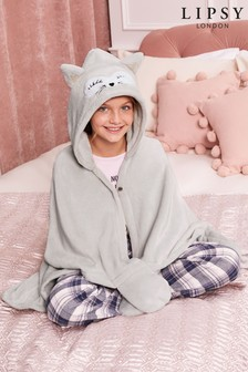 Lipsy Girl Fox Blanket