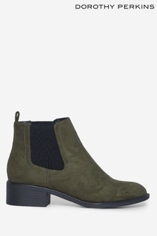 Dorothy Perkins Microfibre Maple Chelsea Ankle Boot