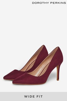 Dorothy Perkins Wide Fit Dele Court Shoe