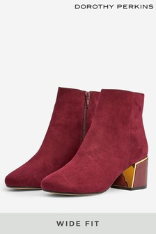 Dorothy Perkins Wide Fit Amber Ankle Boot