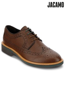 Jacamo Contrast Detail Brogue Shoes