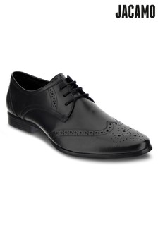 Jacamo Leather Formal Brogue Shoes