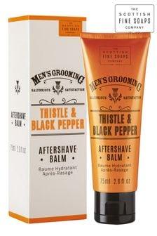 Scottish Fine Soaps Thistle  Black Pepper Aftershave Balm 75ml