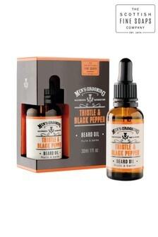 Scottish Fine Soaps Thistle  Black Pepper Beard Oil 30ml