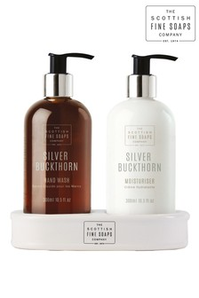 Scottish Fine Soaps Silver Buckthorn Hand Care Set